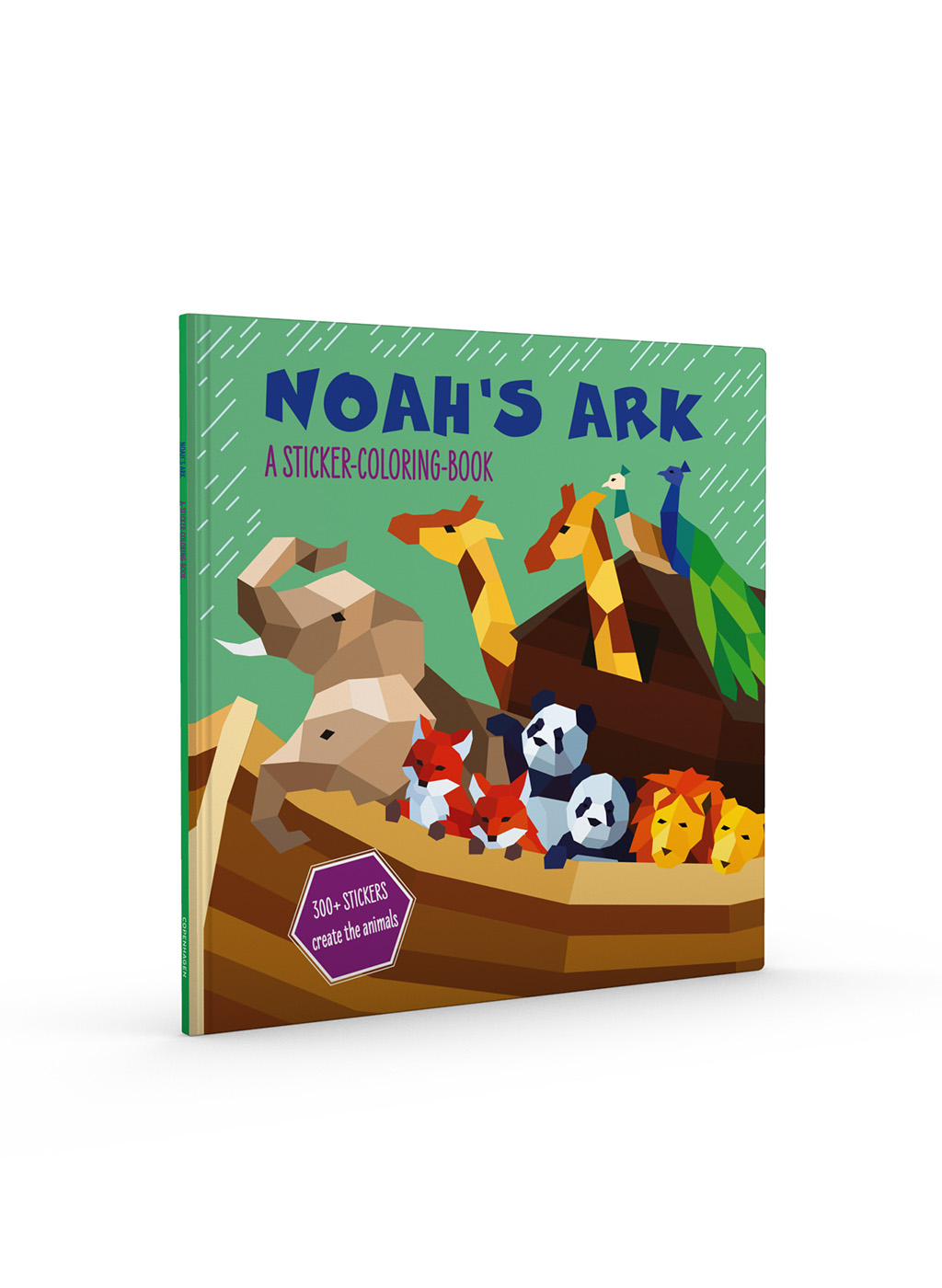 Noah's Ark – a Sticker-Coloring Book